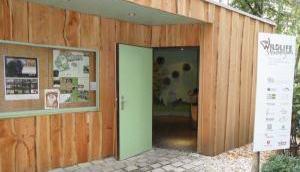 Steinbergium Eingang